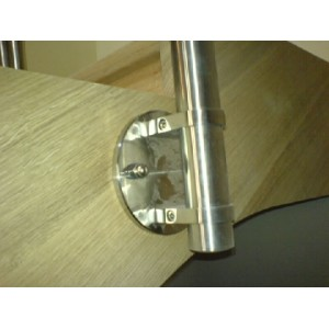 Poteau 1m20 pour rambarde escalier