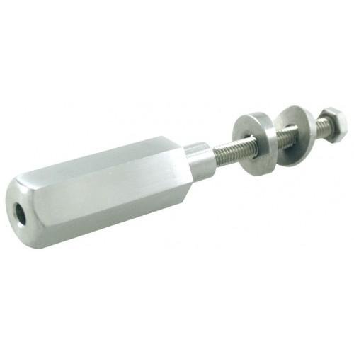 Tendeur - fixation sur poteau - câble 4mm